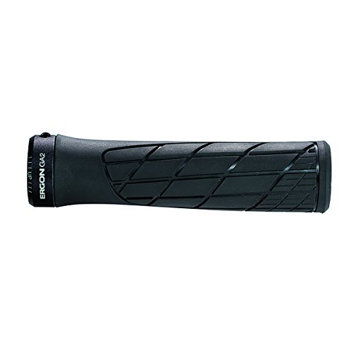 Ergon - GA2 Ergonomic Lock-on Bicycle Handlebar Grips | Standard Compatibility | for Mountain Bikes...