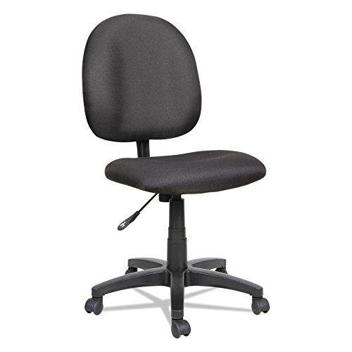 Alera ALE Essentia Series Swivel Task Chair, Acrylic, Black