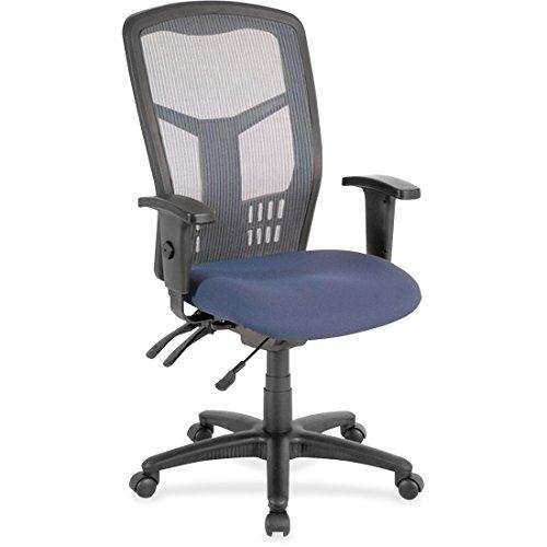 Lorell Ergomesh Seating Executive Mesh High-Back Chair, 3.8' Height X 43' Width X 12' Length