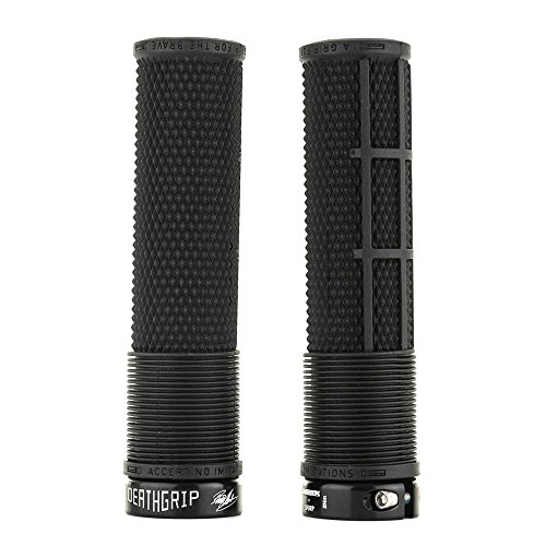 DMR Brendog Flangeless DeathGrip - Thick Black, 31.3mm