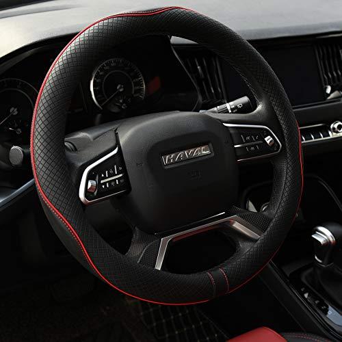 Rueesh Microfiber Leather Steering Wheel Cover Anti-Slip Matte Finish Auto Car Wheel Cover Universal...