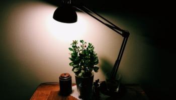 ergonomic desk lamp