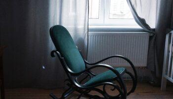 ergonomic rocking chair