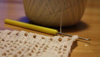 ergonomic crochet handle
