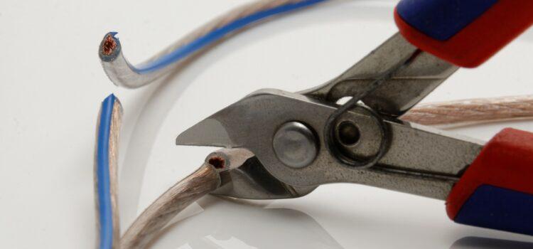 ergonomic wire cutters